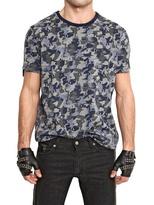 Karl Lagerfeld Techno Jersey Camouflage Print T-Shirt