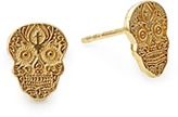 Alex and Ani Calavera Post Earrings