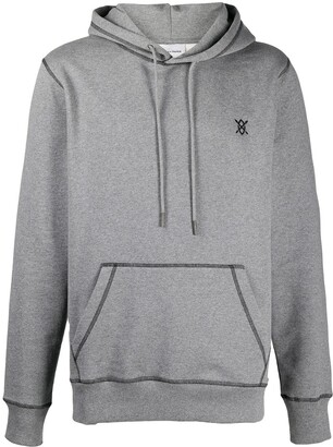Daily Paper Contrast-Stitched Hoodie