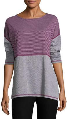 Three Dots Stripes & Dots T-Shirt