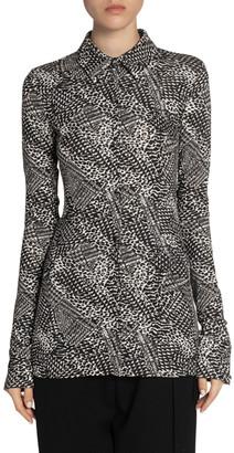 Proenza Schouler Matte Jersey Button-Front Shirt