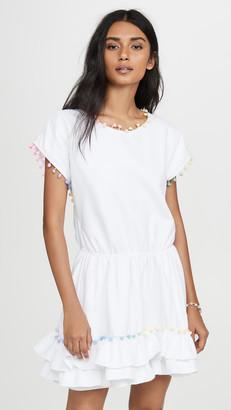 Peixoto Pom Pom Mini Dress