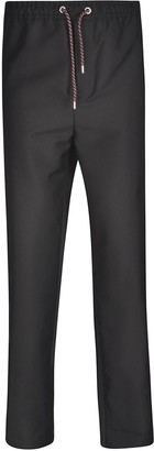 Les Hommes Drawstring Waist Trousers