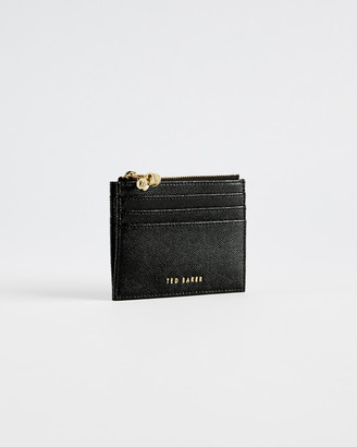 Ted Baker ONETA Leather multi charm zip up card wallet