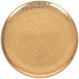L'OBJET Alchimie Gold Dinner Plate