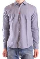 Altea Men's Grey Cotton Shirt.