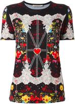 Piccione Piccione Piccione.Piccione floral print T-shirt
