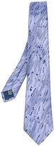 Lanvin swirl pattern tie - men - Silk - One Size
