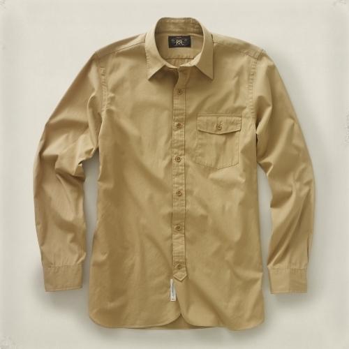 Lenox RRL Flap-Pocket Dress Shirt