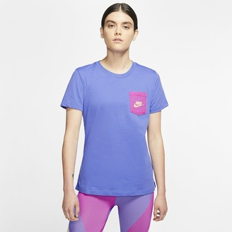 Nike Women's T-Shirt Sportswear Icon Clash