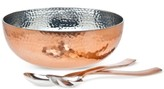 Godinger Copper Salad Set