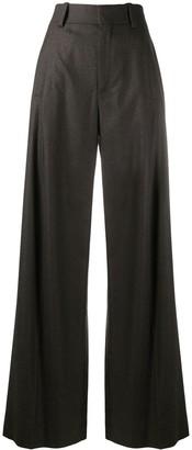 Chloé High-Waisted Wide-Leg Trousers