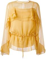 See by Chloe gathered blouse