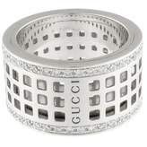 Gucci White gold ring