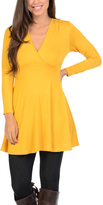 Magic Fit Mustard Surplice Tunic
