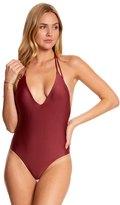 Vix Paula Hermanny Solid Piercing One Piece Swimsuit 8149655