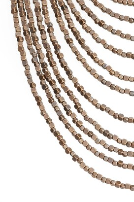 Karine Sultan Joan Beaded Multistrand Necklace