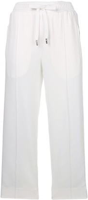 Dolce & Gabbana #DGLIFE cropped trim trousers