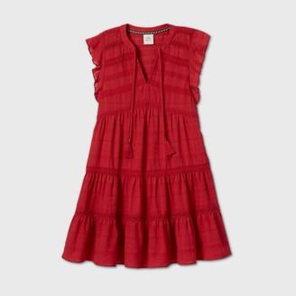 Knox Rose™ Woen's Flutter Short Sleeve Dress - Knox RoseTM