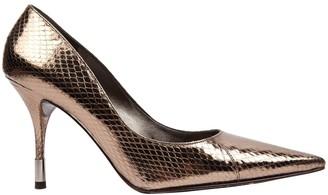 Dolce & Gabbana \N Silver Leather Heels