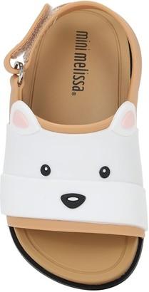 Mini Melissa Bear Rubber Sandals