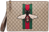 Gucci GG Supreme men's bag with bee
