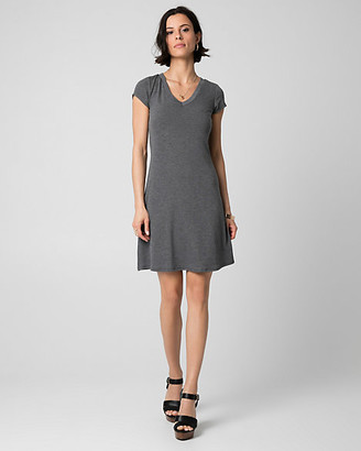 Le Château Jersey V-Neck Mini Dress