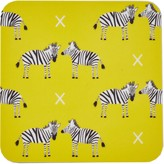 Rosa & Clara Designs Zebras Coasters Set Of Four