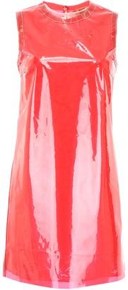 N°21 N.21 Pvc And Lace Dress