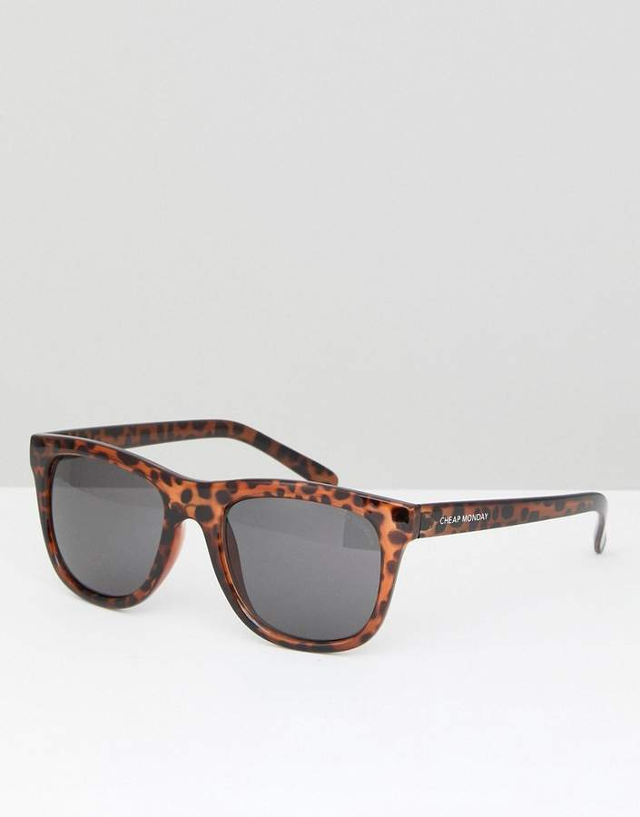 Cheap Monday Timeless Square Sunglasses Tortoiseshell