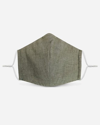 Express Pocket Square Clothing Olive Green Unity Face Mask