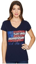 U.S. Polo Assn. V-Neck Flag Tee