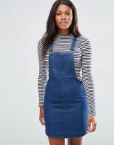 Brave Soul Denim Pinafore Dress