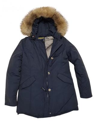 Woolrich Blue Polyester Coats
