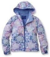 L.L. Bean Girls' Snowscape Jacket, Print