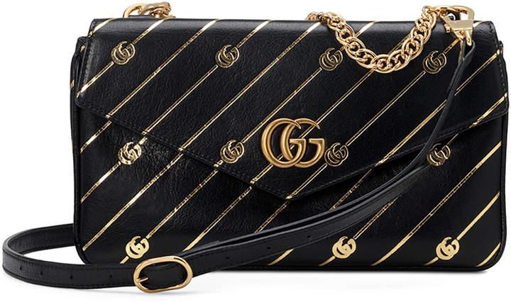 ab61b7579da0 Gucci Black Double Handle Shoulder Bags - ShopStyle