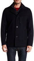 Kenneth Cole New York Stand-Up Car Coat