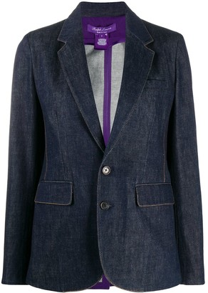 Ralph Lauren Collection Yvette single-breasted blazer