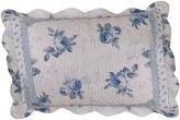 Asstd National Brand Rose Blossom Blue Standard Sham