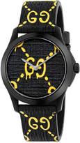 Gucci 38MM G-Timeless GG Pattern Watch