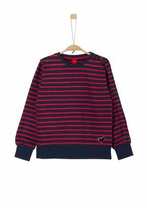 S'Oliver Girls' 66.909.41.2438 Sweatshirt