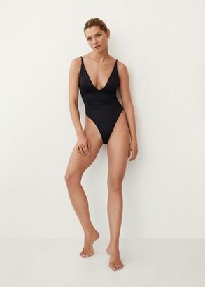 MANGO Swimsuit with back straps