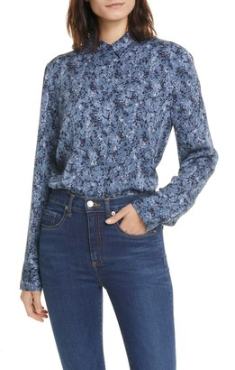 Nordstrom Signature Long Sleeve Button Down Shirt