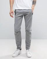 Puma Evo Joggers In Grey