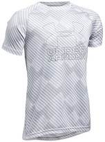 Under Armour Boys' Big Logo Tech Tee - Big Kid