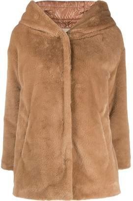 Herno hooded short jacket