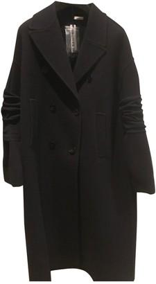 Jil Sander Blue Wool Coat for Women