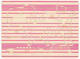 STUDIO DELLE ALPI Puzzle The Crew lignes Pink