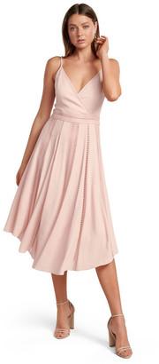 Forever New Naomi Lace Insert Midi Dress