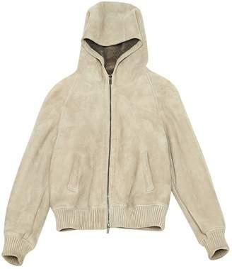 Fratelli Rossetti \N Ecru Leather Coat for Women